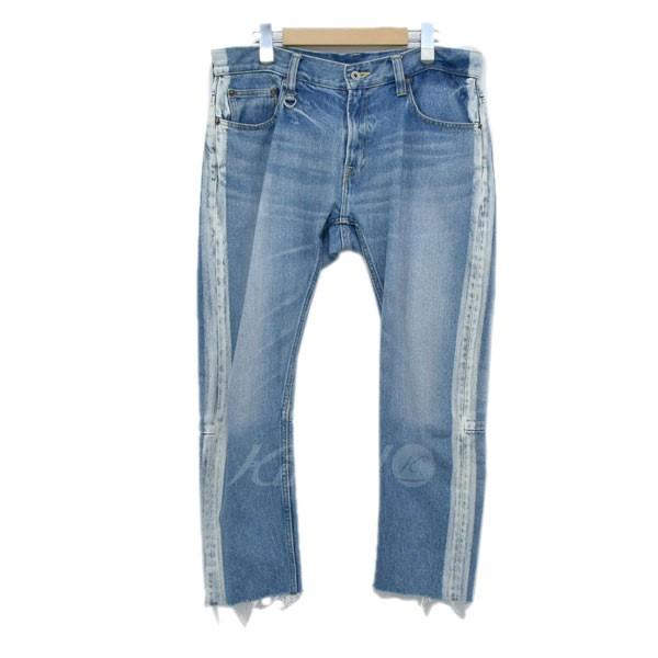 【中古】MAGIC STICK デニム パンツ CUT OFF FADE JEAN インディゴ サイズ:M 【280419】(マジックスティック)