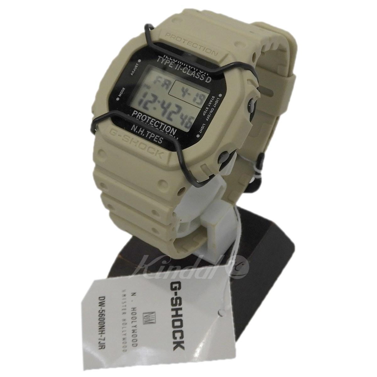 【中古】N.HOOLYWOOD × G-SHOCK 「DW-5600NH」腕時計 ベージュ サイズ:- 【送料無料】 【290419】(エヌハリウッド ジーショック)