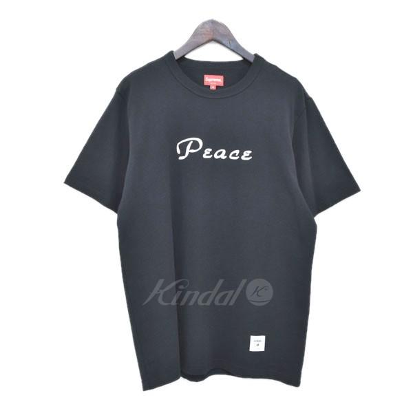 【中古】SUPREME 18AW 「Peace S/S Top」 ピースTシャツ ブラック サイズ:M 【300419】(シュプリーム)