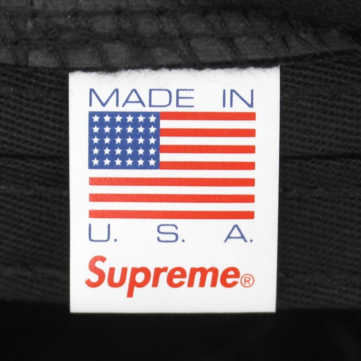82c3aaef ... SUPREME 18AW Velvet Camp Cap velvet camping cap black size: - Supreme