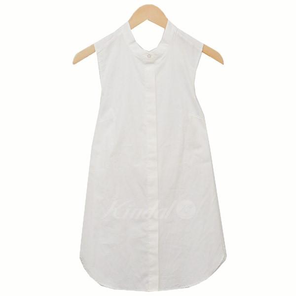 【中古】3.1 phillip lim ノースリーブシャツ デザインシャツ シャツ ベスト ホワイト サイズ:2 【100519】(スリーワンフィリップリム)