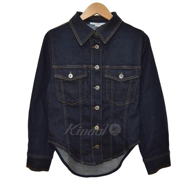 【中古】STELLA McCARTNEY 17AW fitted denim jacket デニムジャケット インディゴ サイズ:40 【110519】(ステラマッカートニー)
