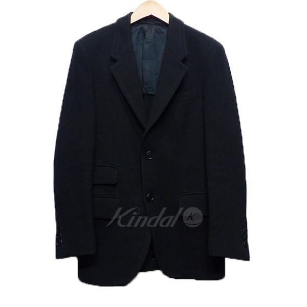 【中古】PRADA プラダ ウール テーラード ジャケット ブラック サイズ:46R 【110519】(プラダ)