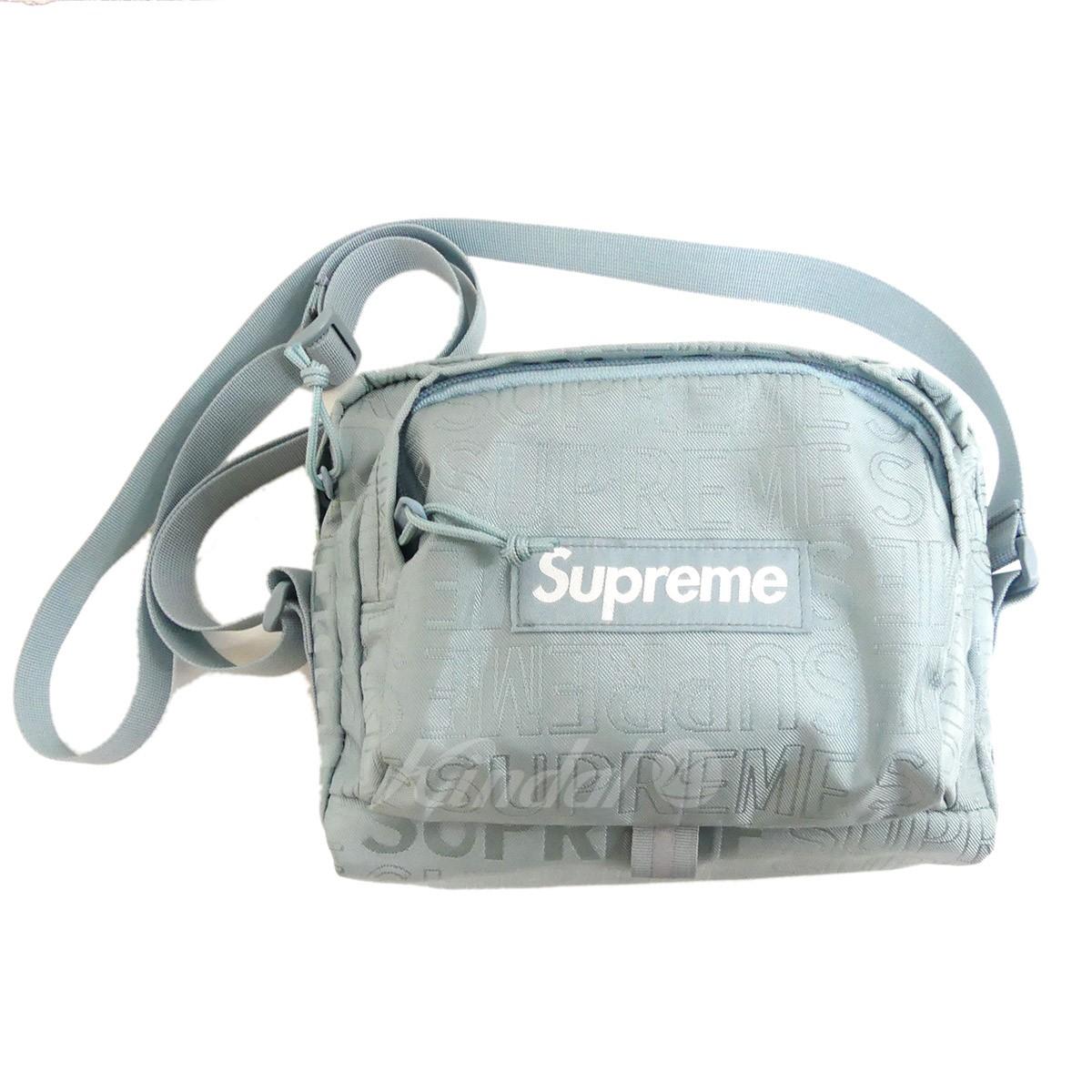 【中古】SUPREME 2019SS Shoulder Shoulder Bag ショルダーバッグ ショルダーバッグ ブルー Bag【130519】(シュプリーム), アザイチョウ:255f2e0e --- djcivil.org