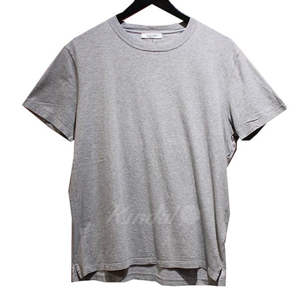 【中古】VALENTINO 無地 クルーネック Tシャツ グレー サイズ:S 【120519】(ヴァレンチノ)