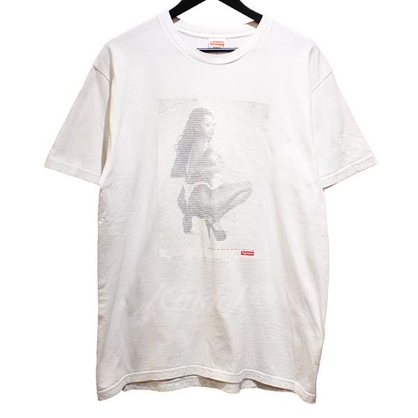 【中古】SUPREME 2017SS Digi Tee Digi ディジ Tシャツ サイズ:L 2017SS ホワイト サイズ:L【130519】(シュプリーム), 和 アンティーク 古録展 WORLD:3fe2cccf --- knbufm.com