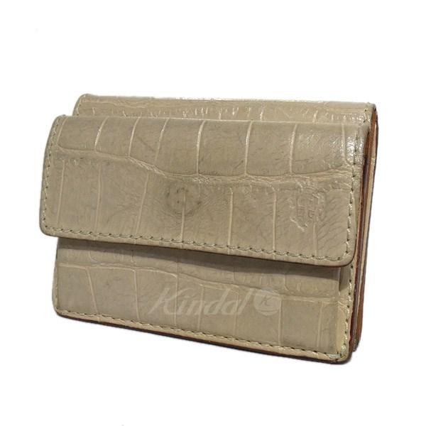 【中古】FELISI「1031/SA」三つ折財布 ベージュ サイズ:-