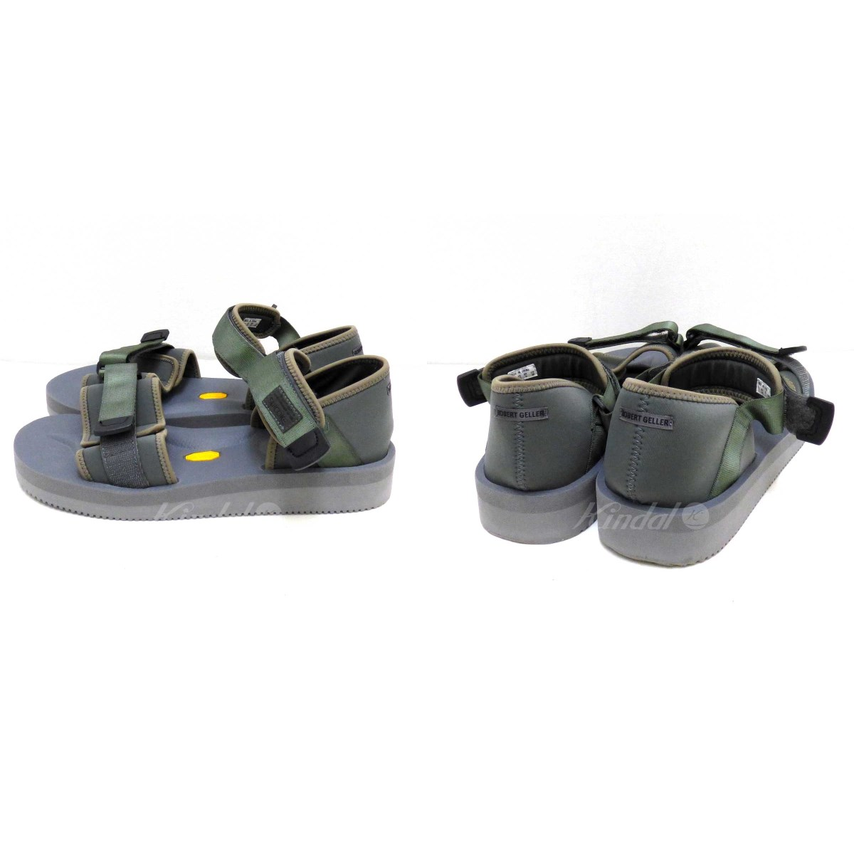 ca3037420d ... Suicoke ROBERT GELLER collaboration sandals Vibram sole gray size: US10  (Sui cook) ...