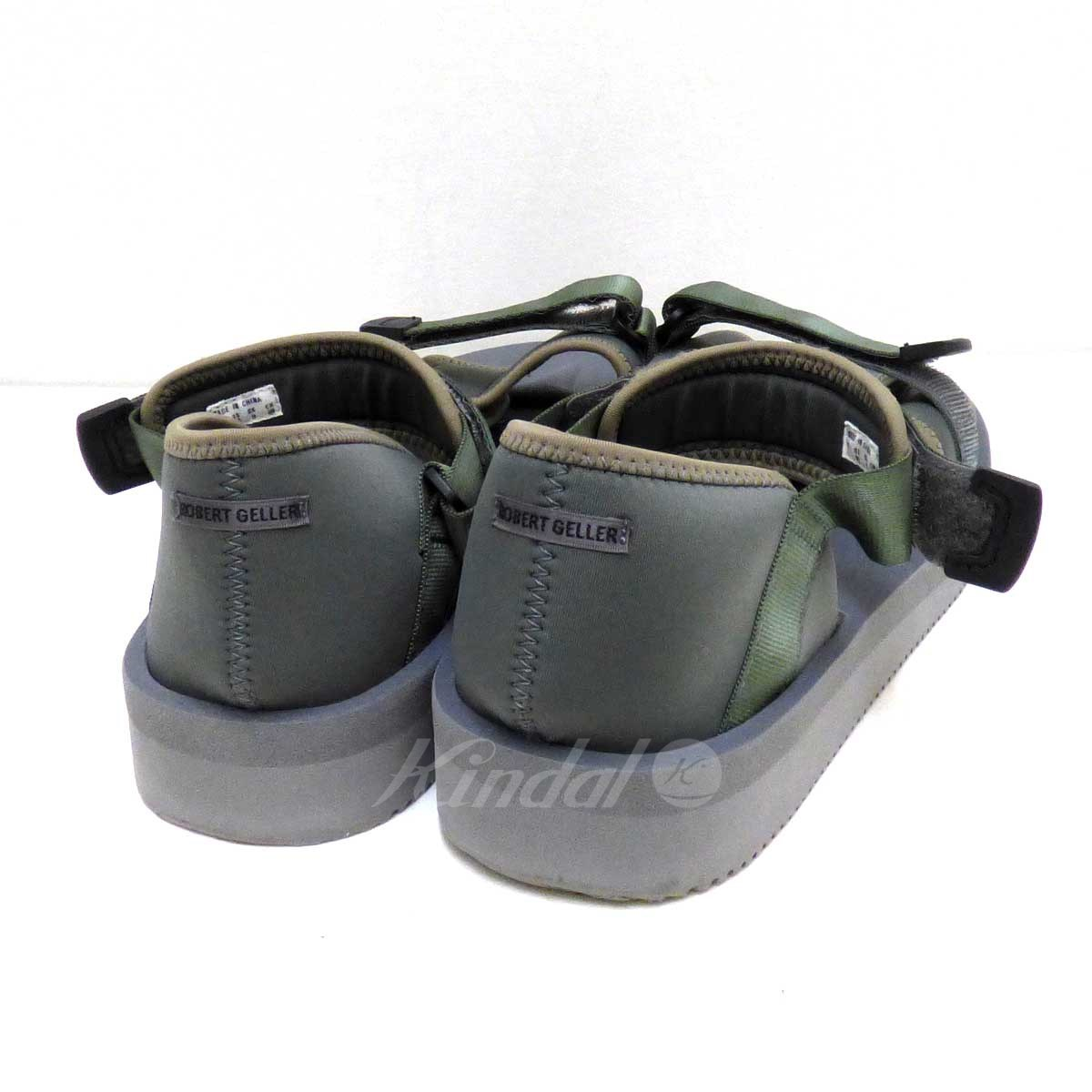 fc8f1397a60 ... Suicoke ROBERT GELLER collaboration sandals Vibram sole gray size: US10  (Sui cook) ...