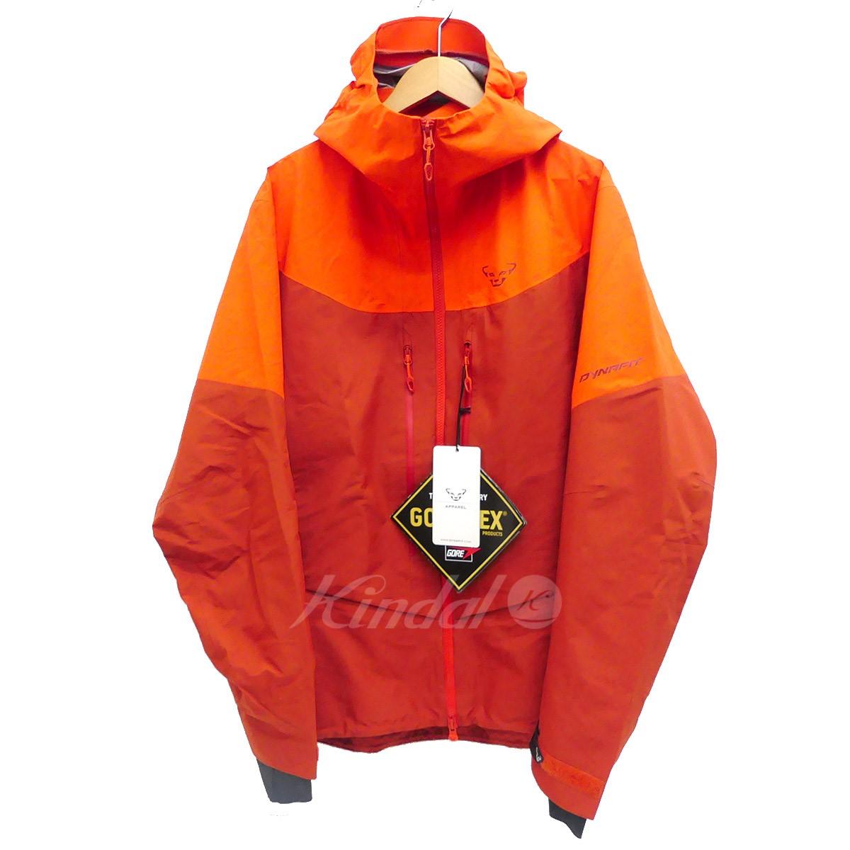 【中古】DYNAFIT マウンテンパーカー YOTEI GTX M JACKET オレンジ サイズ:L 【160519】(ディナフィット)