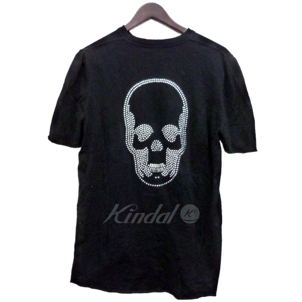 【中古】LUCIEN PELLAT-FINET バックスカルコットンニットTシャツ ブラック サイズ:L 【180519】(ルシアンペラフィネ)