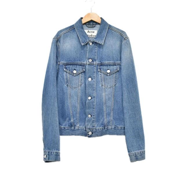 【中古】ACNE STUDIOS Mid Vintage  デニムジャケット インディゴ サイズ:46 【240519】(アクネストゥディオズ)