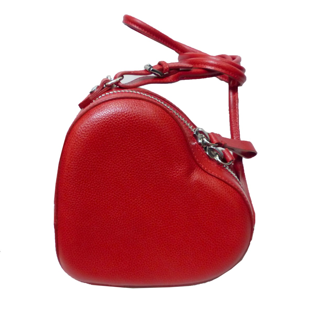 【中古】VIVIENNE WESTWOOD ANGLOMANIA ヴィヴィアン・ウエストウッド アングロマニア JOHANNA HEART ショルダーバッグ レッド サイズ:- 【250519】(ヴィヴィアン・ウエストウッド アングロマニア)