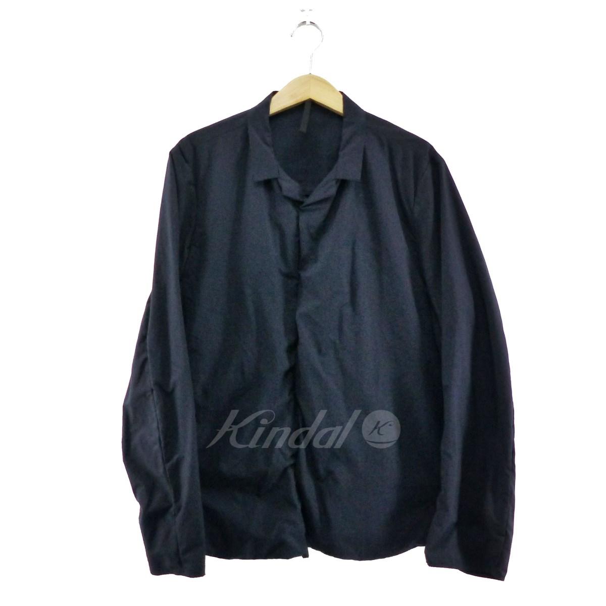 【中古】TEATORA Wallet Shirt P ネイビー サイズ:50 【260519】(テアトラ)