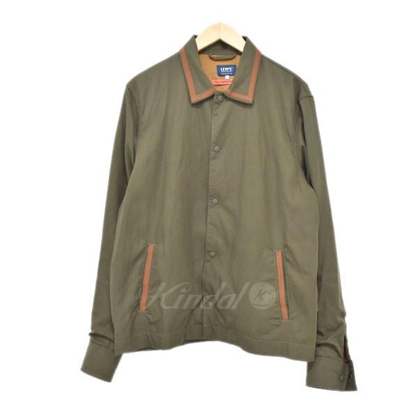 【中古】LEVIS VINTAGE CLOTHING コーチジャケット カーキ サイズ:2 【270519】(リーバイスヴィンテージクロージング)