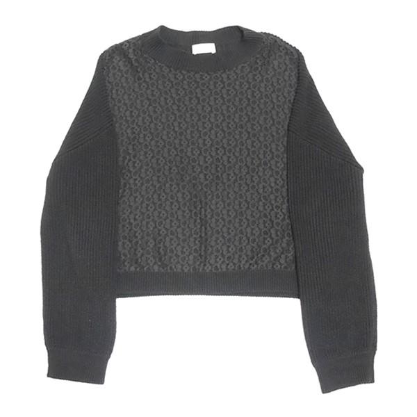 【中古】RED VALENTINO セーター ブラック サイズ:S 【260519】(レッドヴァレンティノ)