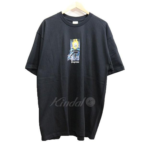 【中古】SUPREME 19SS Ghost Rider Tee ゴーストライダーTシャツ ブラック サイズ:XL 【260519】(シュプリーム)