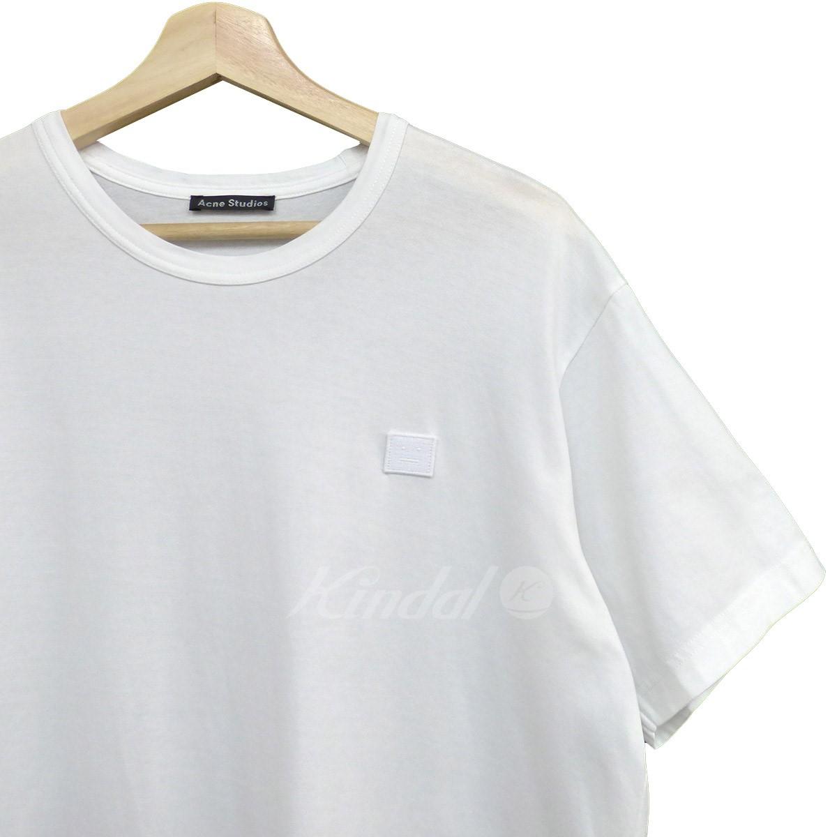 【中古】ACNE STUDIOS NASH FACE Tシャツ ホワイト サイズ:S 【010619】(アクネストゥディオズ)