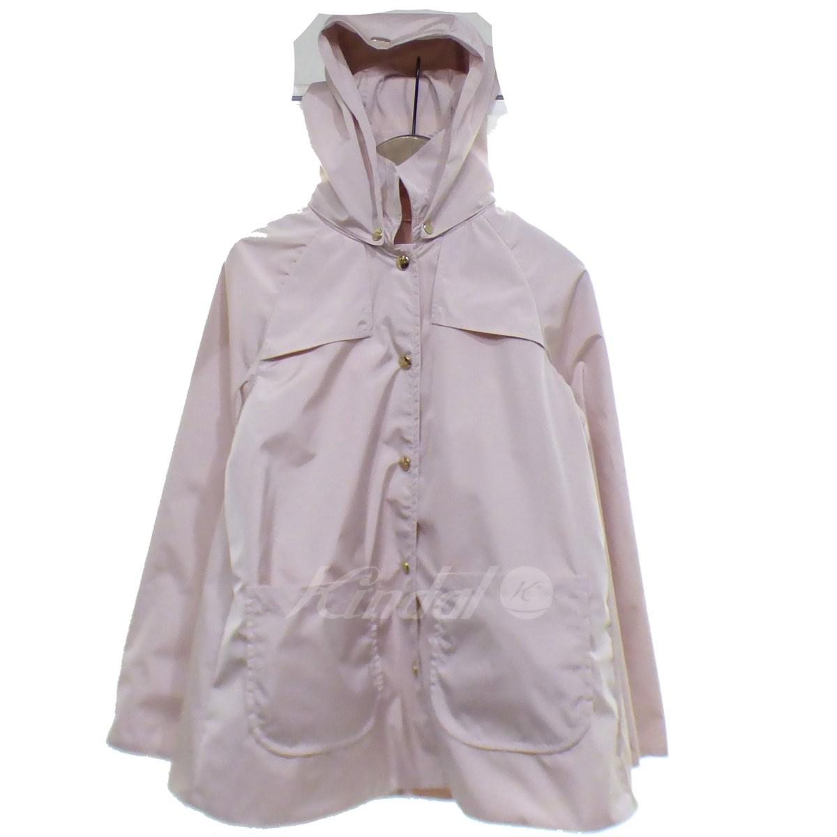 【中古】HERNO ナイロンフーディジャケット ピンク サイズ:10A 【020619】(ヘルノ)
