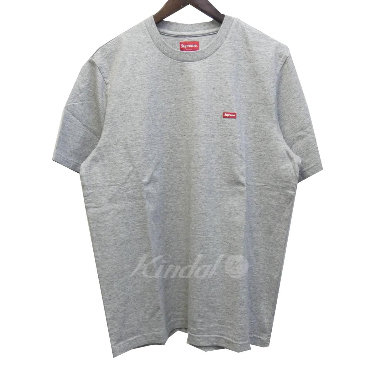 【中古】SUPREME 19SS 「Small Box Tee」スモールボックスロゴTシャツ グレー サイズ:M 【020619】(シュプリーム)