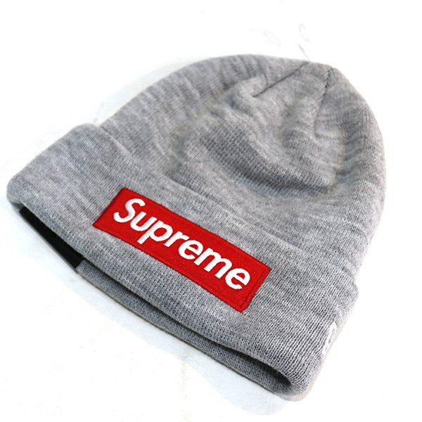cee1bd2e Supreme x New Era 18AW Box Logo Beanie box logo knit cap gray size: F  (シュプリームニューエラ)