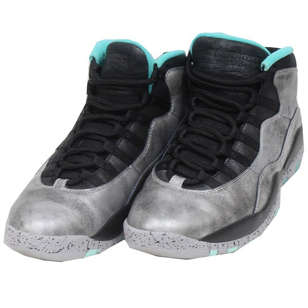 watch 7e73d 42f19 NIKE AIR JORDAN 10 RETRO 30TH Air Jordan sneakers silver size: 27. 5cm  (Nike)