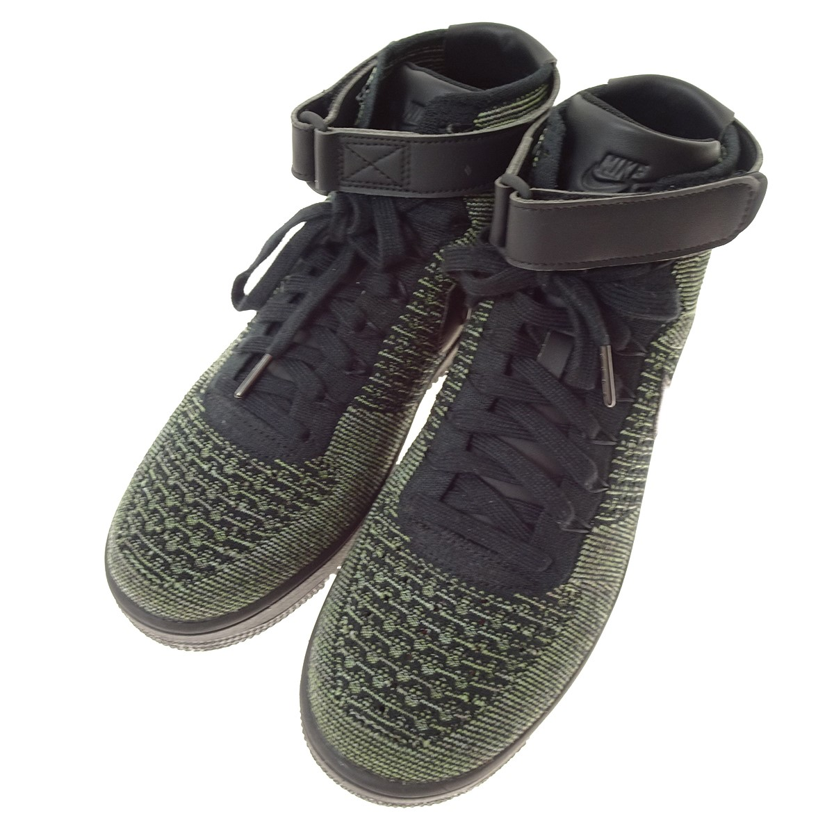 NIKE AIR FORCE1 ULTRA FLYKNIT MID sneakers 817,420 301 palm green size: 28cm (Nike)