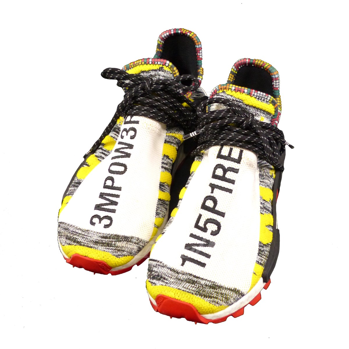 adidas oribinals X Pharrell Williams SOLAR HU NMD multicolored size: 26. 0 (Adidas original X Farrell Williams)