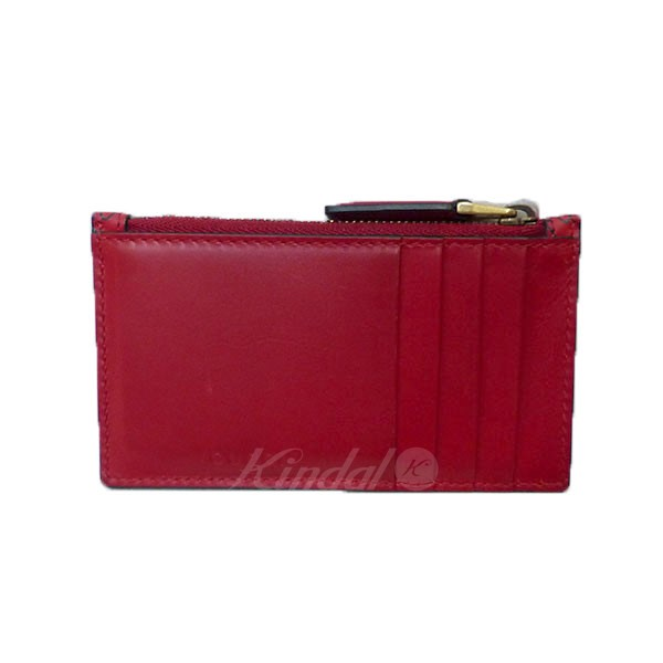 14ac41f01b39 kindal: GUCCI Gucci GHOST card case red size: - (Gucci) | Rakuten ...