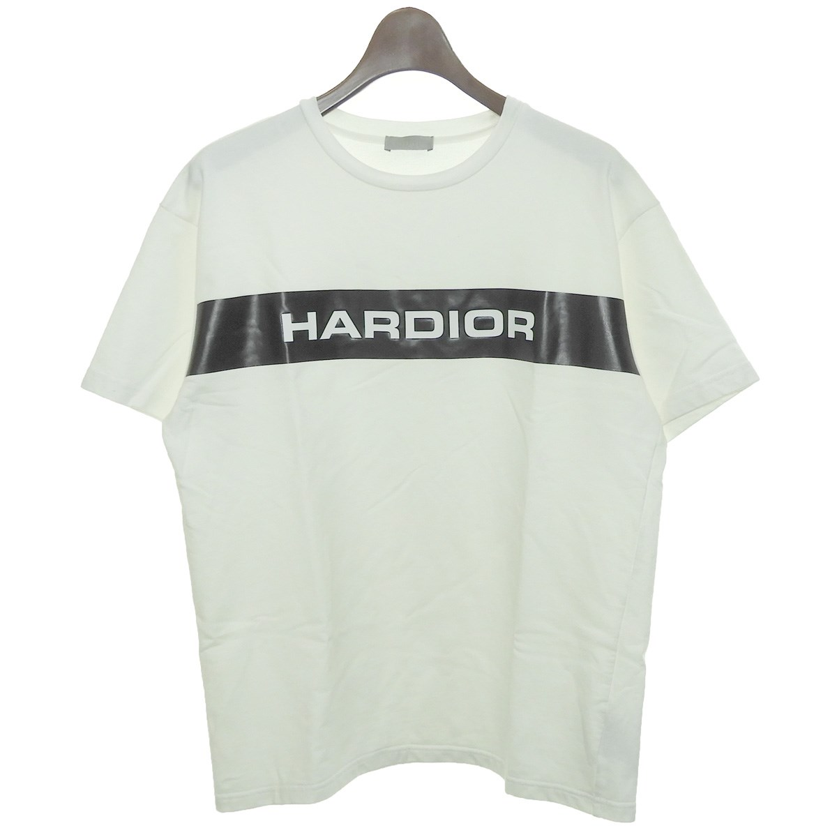 finest selection ea0f5 8b2a4 Dior Homme 2018SS HARDIOR print T-shirt white size: XXS (ディオールオム)