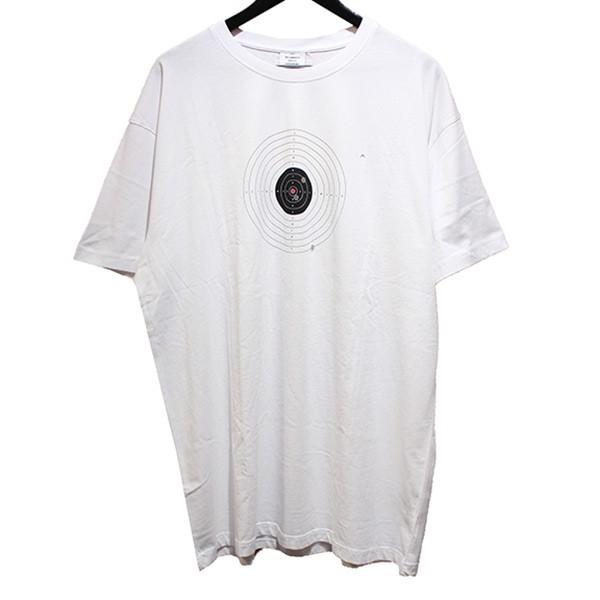 d734d6e222 VETEMENTS 2019SS TARGET T-SHIRT target T-shirt damage processing white  size: M ...