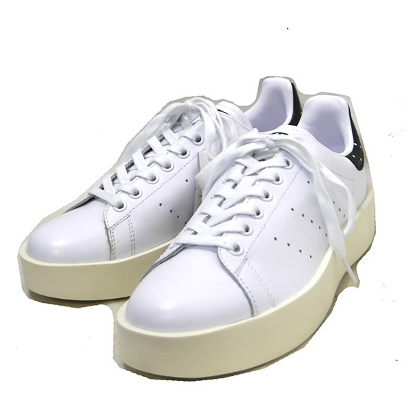 clearance prices sale uk well known adidas STAN SMITH BOLD W Stan Smith sneakers BA7771 white X black size:  JP25. 5 (Adidas)