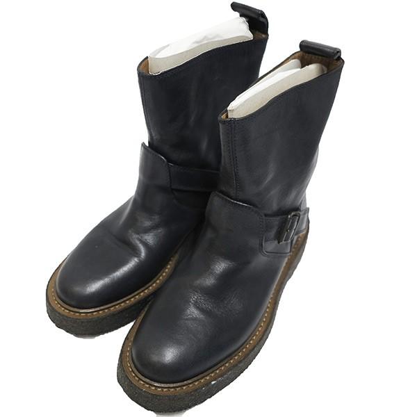 b2667b552fe Maison Martin Margiela22 leather engineer boots black size: 36 (maison  Martin Margiela 22)