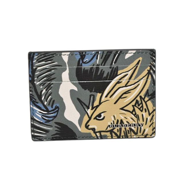 【中古】BURBERRY カードケース カーキ 【240619】(バーバリー)