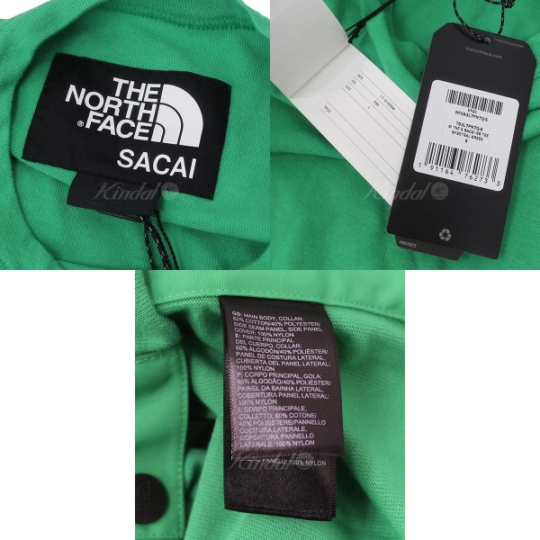 ef2ce2ae4 Sacai X THE NORTH FACE 2017AW M TNF X SACAI SS TEE T-shirt green size: S  (サカイザノースフェイス)