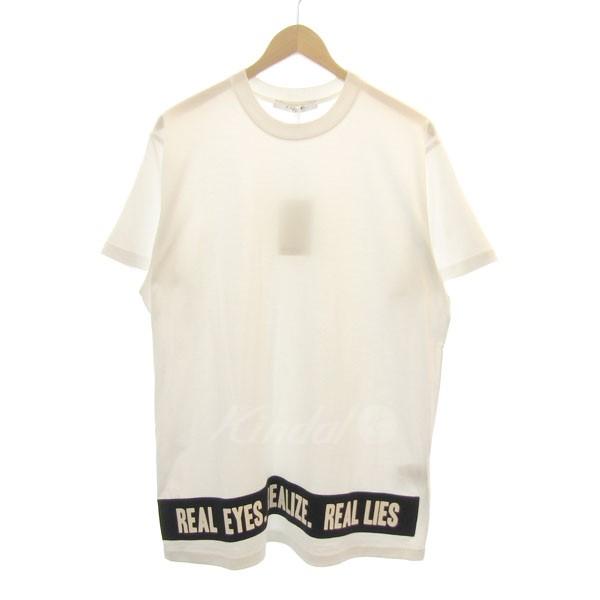【中古】GIVENCHY 2017S/S コットンビッグTシャツ ホワイト サイズ:XS 【280619】(ジバンシィ)