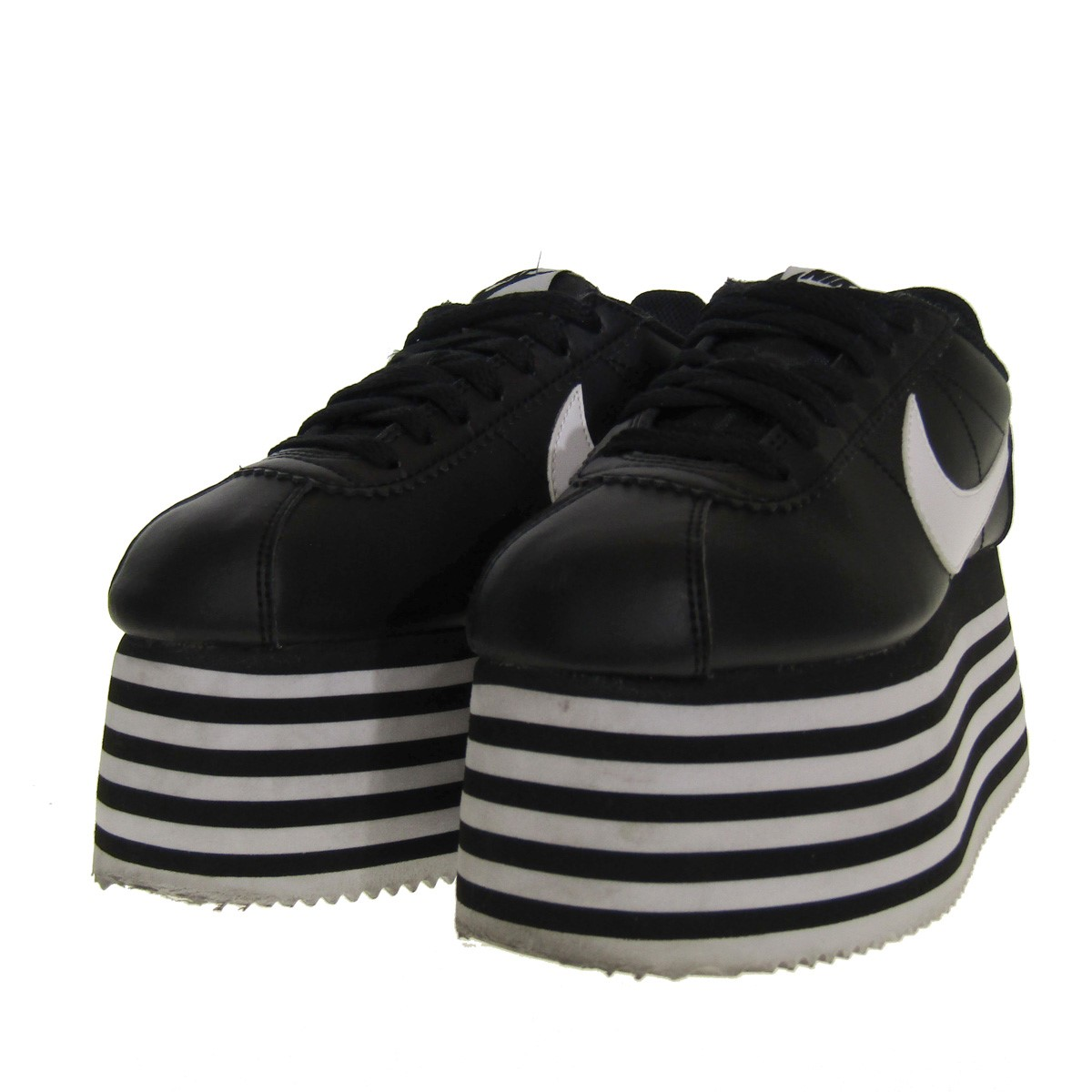 sports shoes 9bdff eb7ce COMME des GARCONS X NIKE WMS NIKE Cortez sneakers black size: 23cm  (コムデギャルソン)