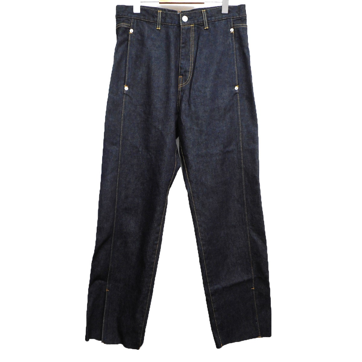 【中古】KAIKO 19SS BUG DENIM PANT ONEWASH インディゴ サイズ:2 【130719】(カイコ)