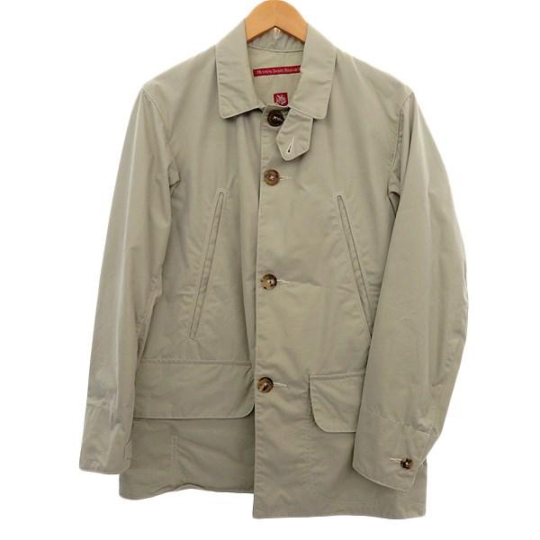 【中古】Hunting Jacket Researchハンティングジャケット ベージュ サイズ:M 【4月2日見直し】