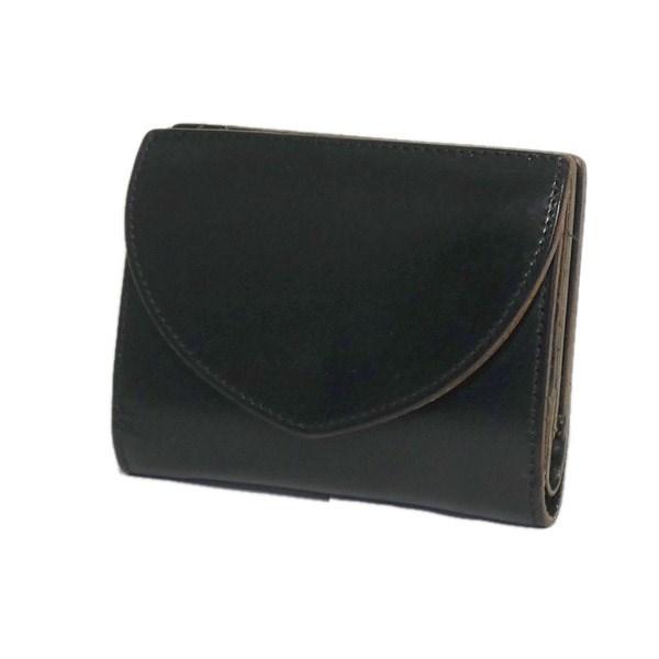 【中古】PORTER二つ折り財布 ブラック