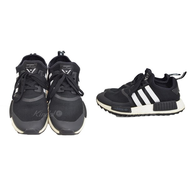 promo code 82ec6 9984d adidas X white mountaineering WM NMD TRAIL PK BA7518 black size:  US9(27.0cm) (Adidas X ホワイトマウンテニアリング)