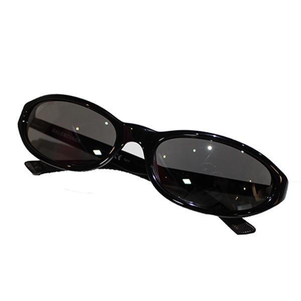 【中古】BALENCIAGA 2019SS ネオラウンド サングラス BB007S ブラック サイズ:- 【240719】(バレンシアガ)