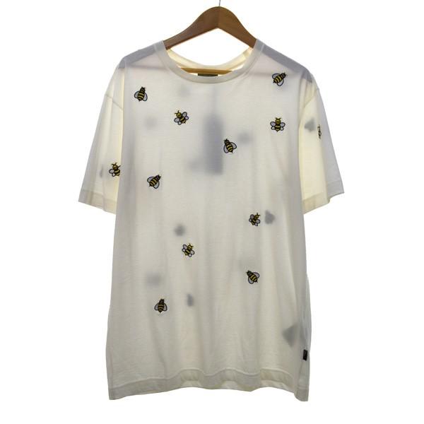 【中古】Dior Homme 19SS×KAWS マルチBEE刺しゅうTシャツ 【236386】 【KIND1884】