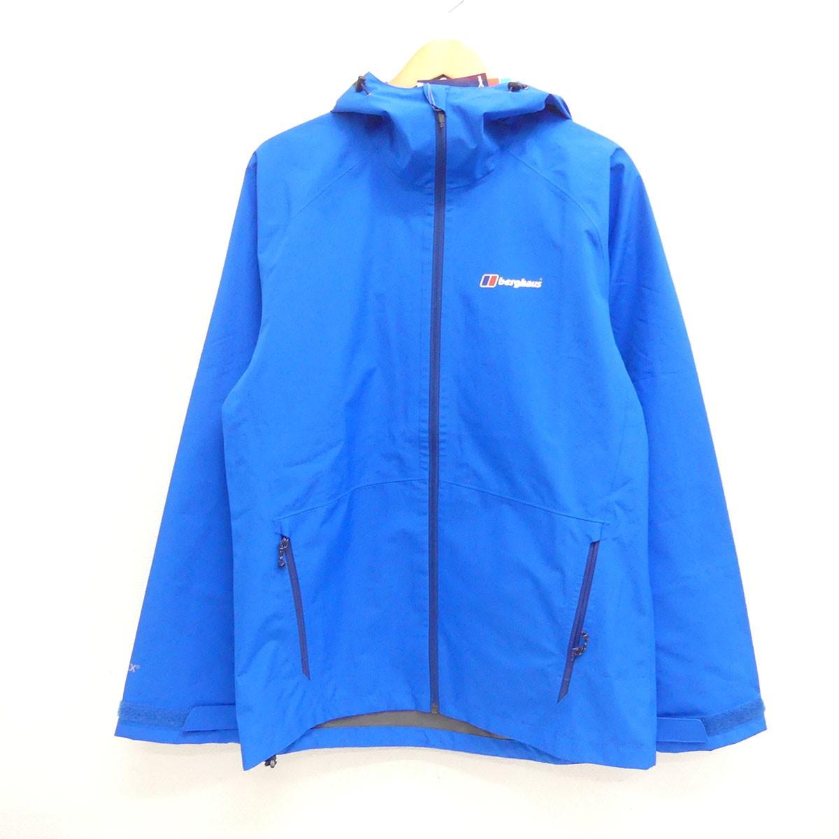 【10月17日 お値段見直しました】【中古】berghausPaclite 2.0 Shell Jacket マウンテンパーカー ブルー サイズ:M