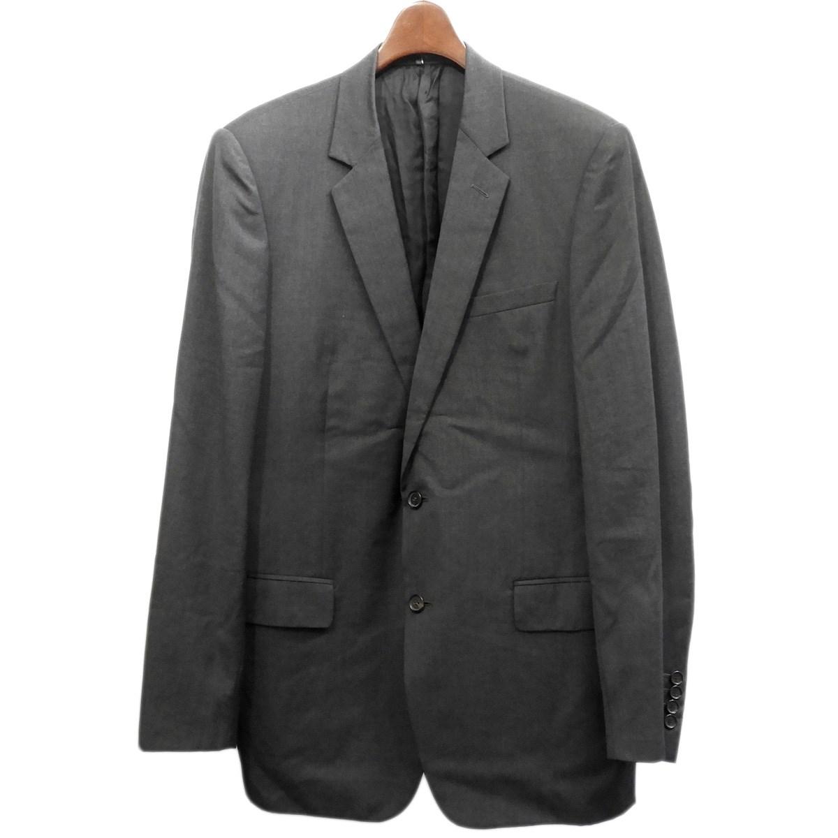 【中古】Dior Homme03SS テーラードジャケット グレー サイズ:50【2月17日見直し】