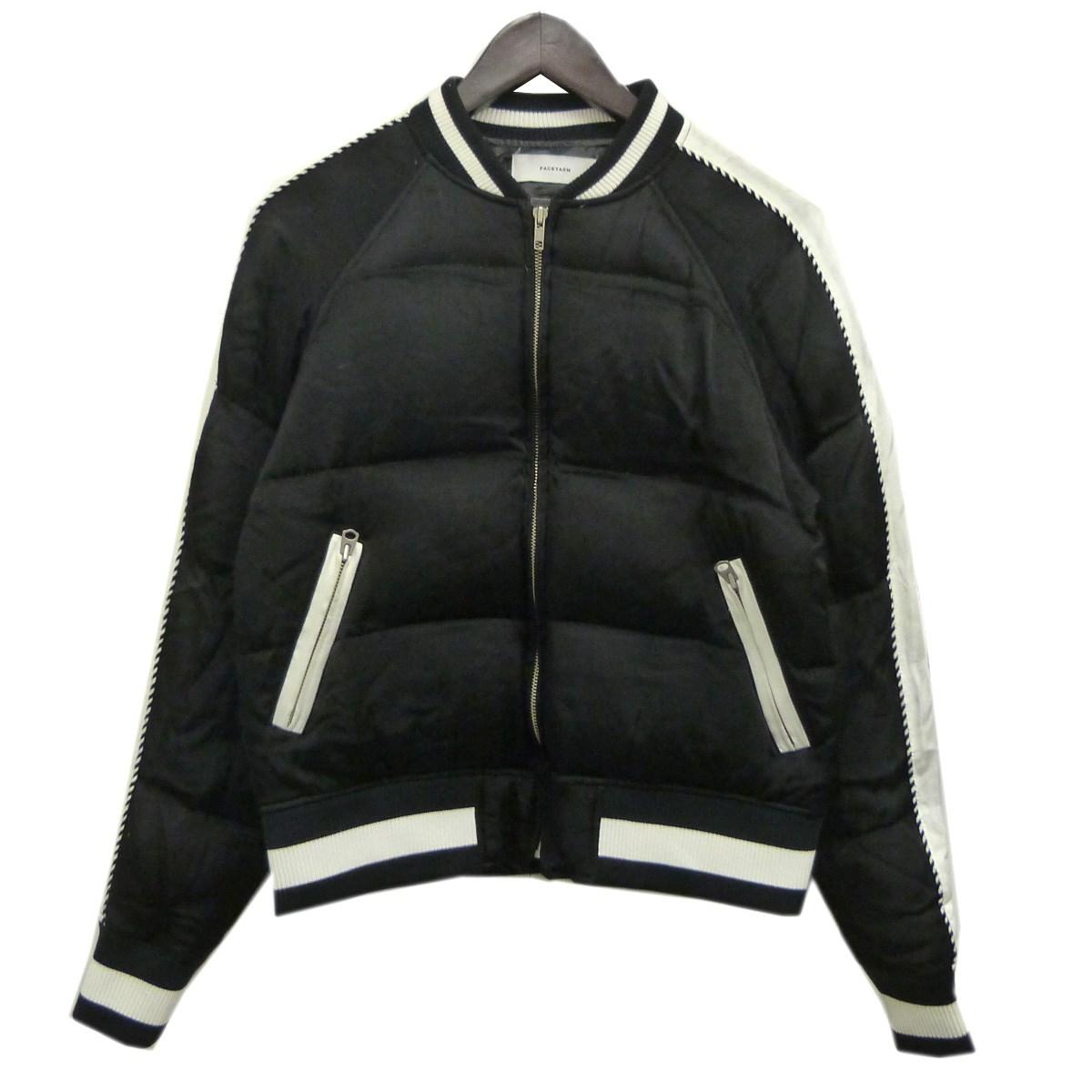 【中古】FACETASM 16AWスカダウンジャケット ブラック サイズ:1 【080819】(ファセッタズム)