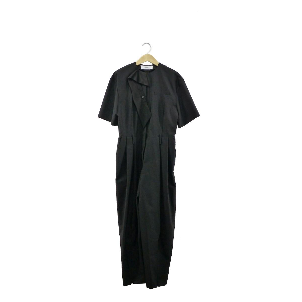 【中古】IRENE2019SS Summer Jump Suit ブラック サイズ:36