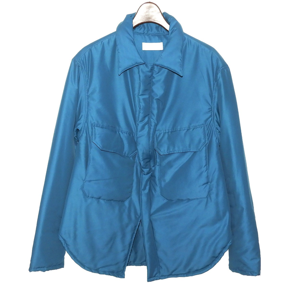 【中古】NEON SIGN 「PADDING JACKET」 パディングジャケット ブルー サイズ:46 【170819】(ネオンサイン)