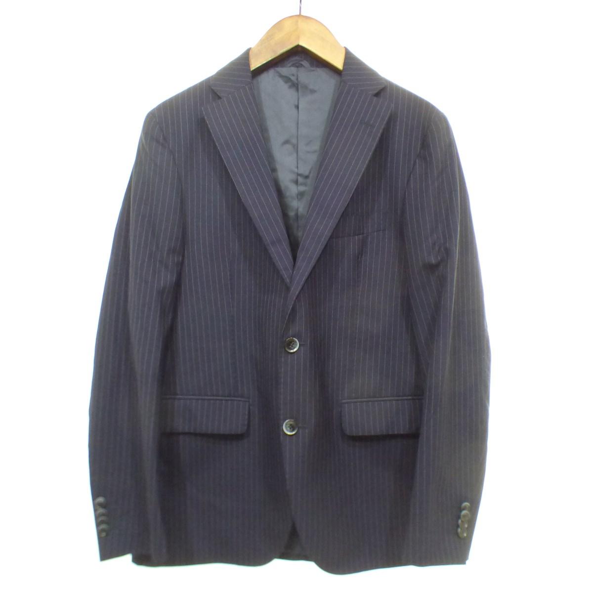 【中古】SARTORIA LATORRE シングルスーツ ネイビー サイズ:48 【170819】(サルトリア ラトーレ)