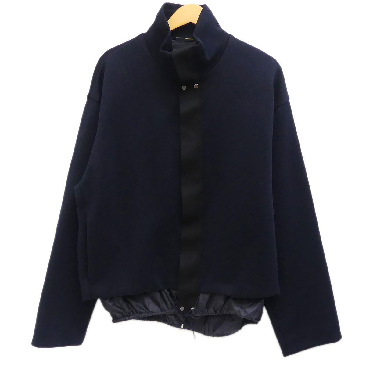 【11月18日 お値段見直しました】【中古】OAMC (OVER ALL MASTER CLOTH)スウェットジャケット 2018AW ネイビー サイズ:S